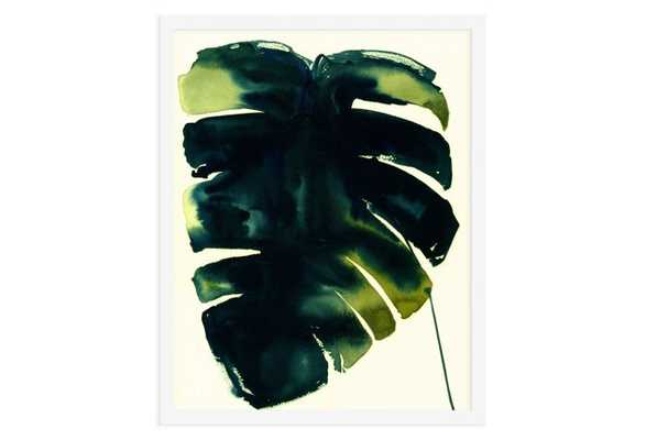 """As Collective, Leaf II - 16"""" x 13"""" - White Frame, No Mat - One Kings Lane"""