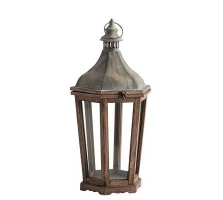 Park Hill Lantern - Medium - Pottery Barn