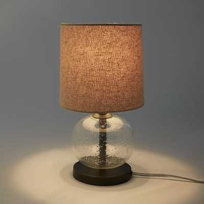 Mini Abacus Table Lamp - Clear - West Elm