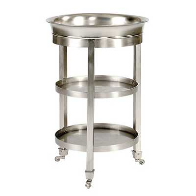 Addison Tray Table - Antique Pewter - Ballard Designs