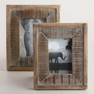 Wood Taylor Wall Frames - 5'' x 7'' - World Market/Cost Plus