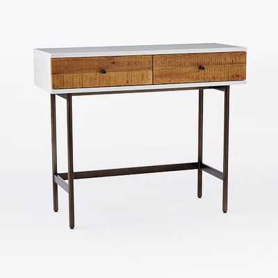 Reclaimed Wood + Lacquer Console - West Elm