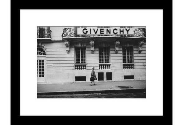 """Glamour, Givenchy - 23.5"""" x 30.5"""" - Black Frame with Mat - One Kings Lane"""