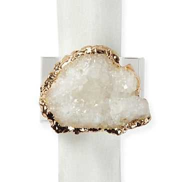 Geode Napkin Ring - Set of 4 - Z Gallerie