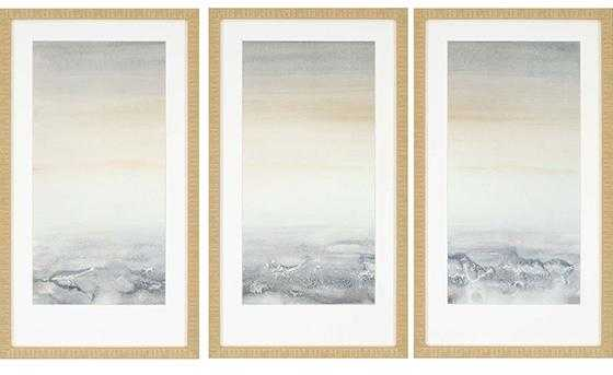 Sable Island Wall Art - Set of 3 - Framed - Home Decorators