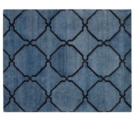 TONAL TILE TUFTED RUG - 9x12 - Pottery Barn
