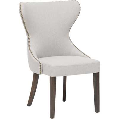 Ariana Dining Chair - Light Grey - Lamps Plus