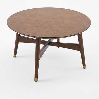 Reeve Mid-Century Coffee Table - Walnut - West Elm