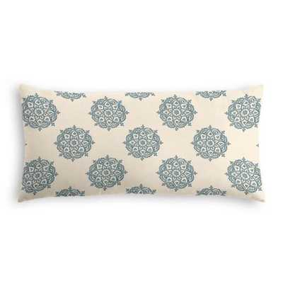 Lumbar Pillow  Multi Medallionaire - Niagara - down insert - Loom Decor