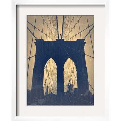 Brooklyn Bridge Poster Print - 19x15, Framed - Target
