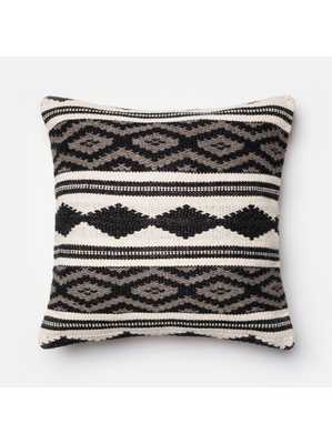 "JAKRA PILLOW - 22"" x 22"" -  Polyester Filled - Lulu and Georgia"