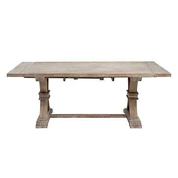 "Archer Extending Dining Table - Rectangular - 78"" - 110""W - Z Gallerie"