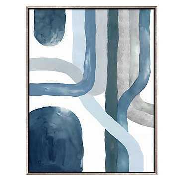 Blue Crossing 2 - 40.75x52.75 - Framed - Z Gallerie