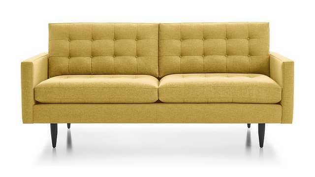 Petrie Sofa - Golden - Crate and Barrel
