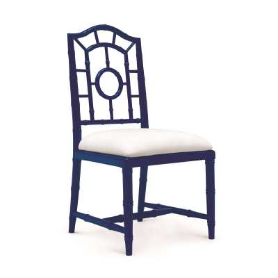 CHLOE SIDE CHAIR, NAVY BLUE - Bungalow 5