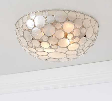 Marina Faceted Shell Flushmount - Pottery Barn