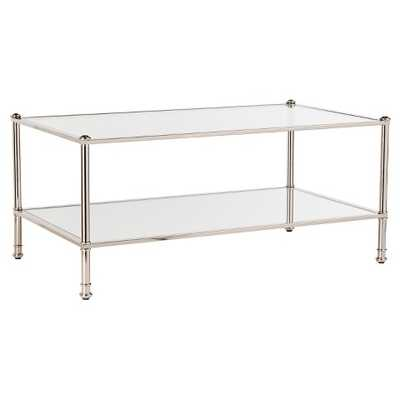 Stephens Coffee Table - Metallic silver - Southern Enterprise - Target