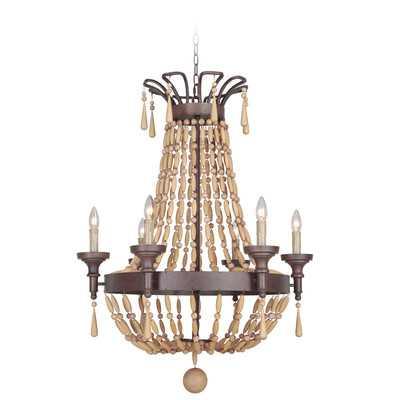 Berkshire 6 Light Candle Chandelier - Wayfair