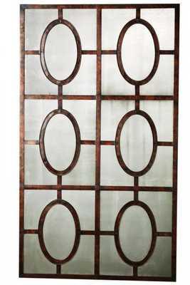 Antiqued Copper Mirror - Home Decorators