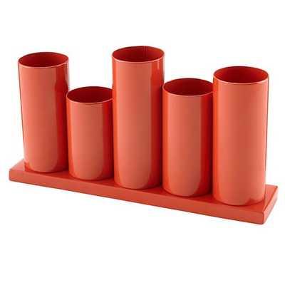 Orange Perfect Pitch Storage Caddy - Land of Nod