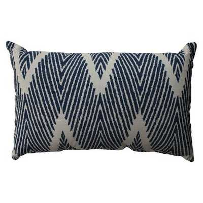 "Bali Toss Pillow Collection, Navy - 11.5"" x 18.5"" - Polyester fill - Target"