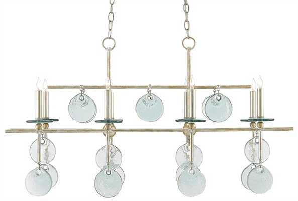 Sethos Rectangular Chandelier - Currey and Company