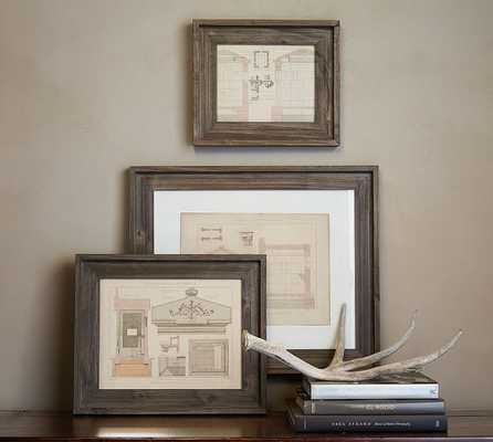 "Barn Wood Frame - 11 x 14"" - Pottery Barn"