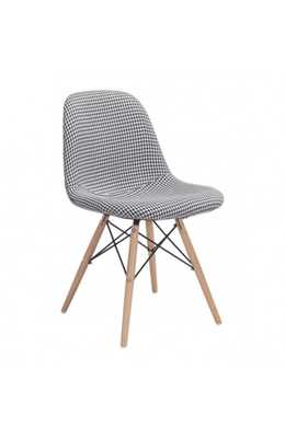 Sappy Dining Chair Houndstooth - Zuri Studios
