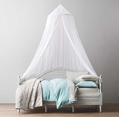 SHEER COTTON BED CANOPY - RH Baby & Child