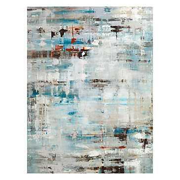 """Cold Rain - 40"""" x 53"""" - Unframed- No mat - Z Gallerie"""