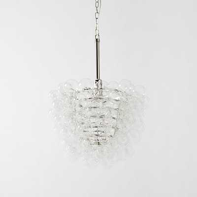 Droplet Glass Chandelier - West Elm