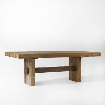 "Emmerson Reclaimed Wood Dining Table - 72"" - Reclaimed Pine - West Elm"