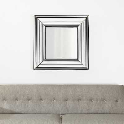 Freya Square Wall Mirror - Crate and Barrel