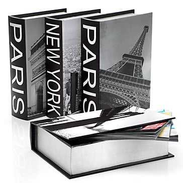 New York & Paris Destination Boxes - Set of 4 - Z Gallerie