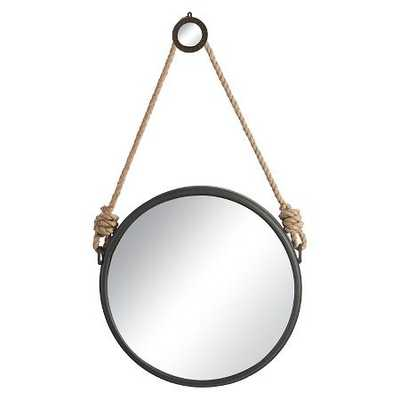 A&B Home Rope Wall Mirror - Natural - Target