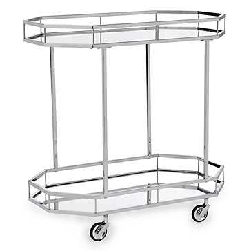 Metropolitan Bar Cart - Z Gallerie