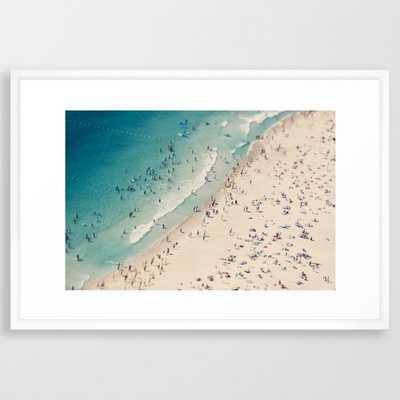 "Beach love V Art Print - 26"" x 38"" print - Society6"