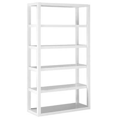 Parsons Tower - White Lacquer - West Elm