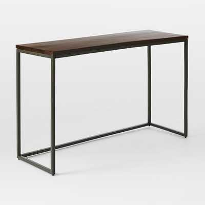 Box Frame Console Table - Cafe - West Elm