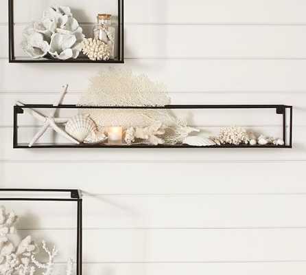 Cube Display Long Rectangle Shelf - Pottery Barn