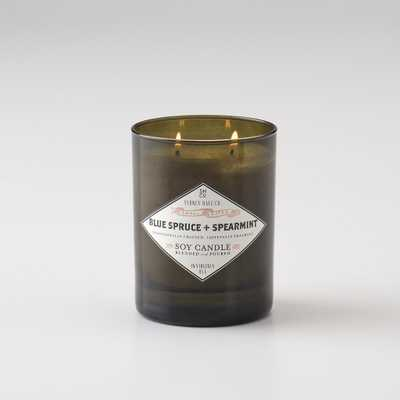 Sydney Hale Co. Candle - Green Glass - Schoolhouse Electric