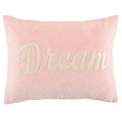 Pink Dream Throw Pillow - With Insert - Land of Nod