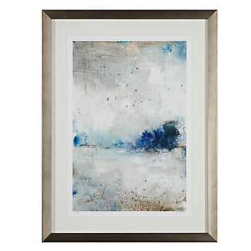 Cool Morning 1 - Limited Edition - Silver Frame - With Mat - Z Gallerie