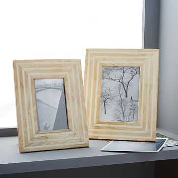 "Wood + Bone Frame, 5""x7"" - West Elm"