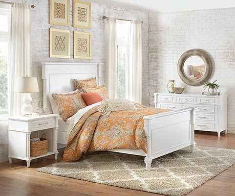 JILL DOUBLE GOURD CERAMIC TABLE LAMP - SET OF 2 - White - Home Decorators