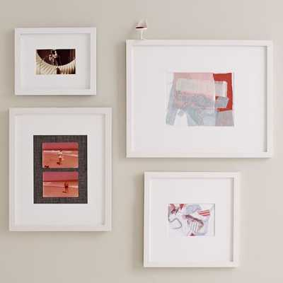 Gallery Frames - White - Set of 4 - Assorted Sizes - West Elm