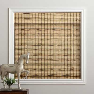 """Rustique Bamboo 74-inch Long Roman Shade - 60"""" - Overstock"""
