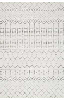 "Moroccan Blythe - Grey - 2'8"" x 8' - Loom 23"