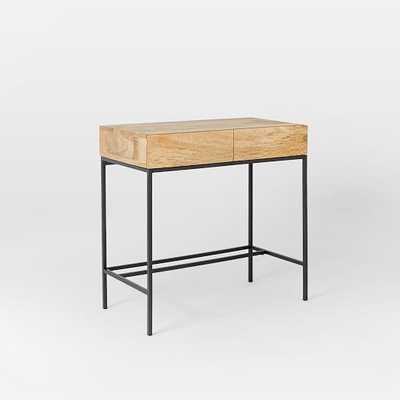 Rustic Storage Mini Desk - West Elm