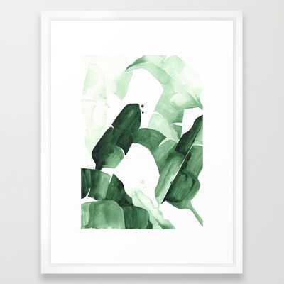 """Beverly I Art Print - 20"""" x 26"""" - Vector White Frame - Society6"""